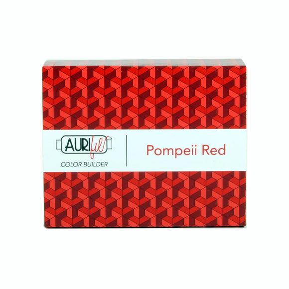 Aurifil 50's Weight - Pompeii Red - Colour Builder Thread Collection
