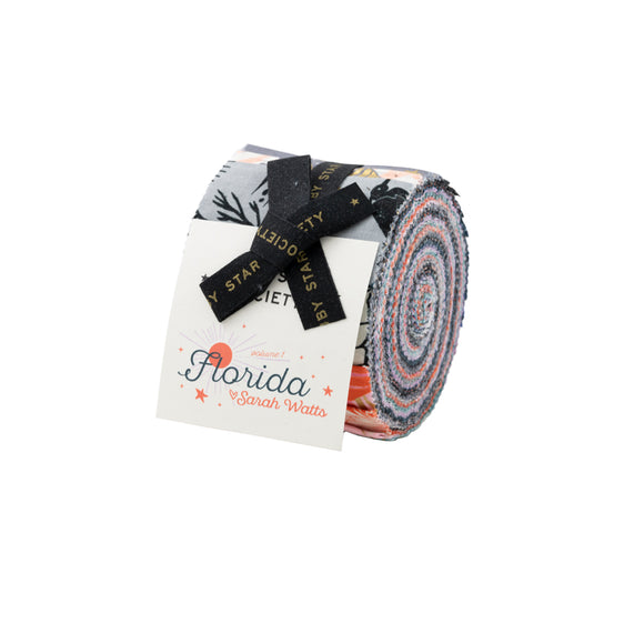 Junior Jelly Roll - Precut Fabric - Florida Fabric Range - Ruby Star Society - Moda Fabrics