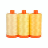 Aurifil 50's Weight - Sicily Yellow -  Colour Builder Thread Collection