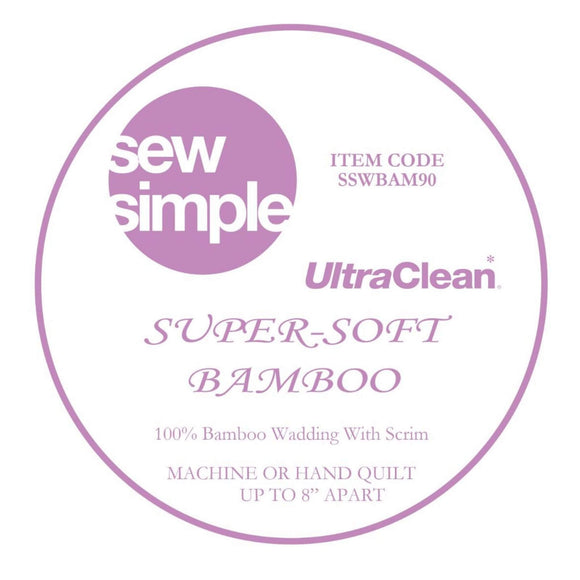 Wadding - Sew Simple - Super-Soft Bamboo - 90