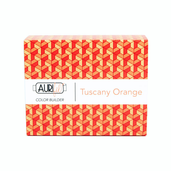 Aurifil 50's Weight - Tuscany Orange - Colour Builder Thread Collection