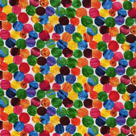 Spots - The Hungry Caterpillar Fabric Range - Andover