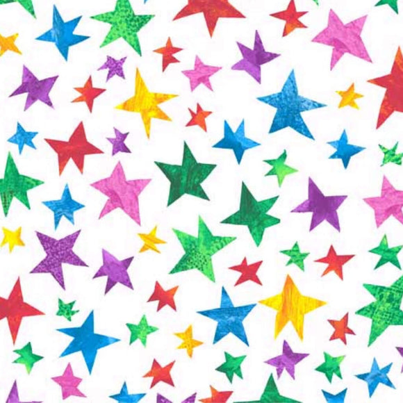 Stars - The Hungry Caterpillar Fabric Range - Andover