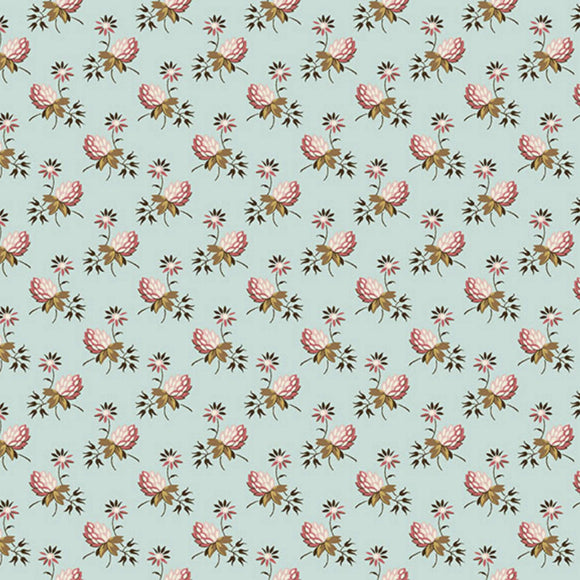 Clover - Super Bloom Range of Fabric by Edyta Sitar - Dakota Sky