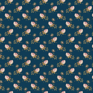 Clover - Super Bloom Range of Fabric by Edyta Sitar - Dusk