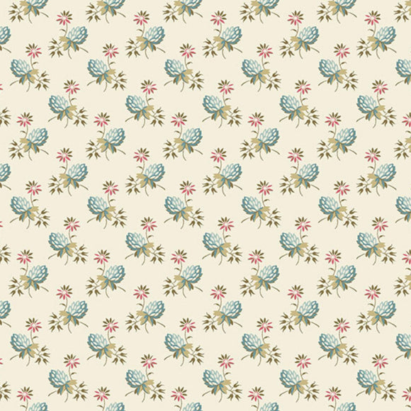 Clover - Super Bloom Range of Fabric by Edyta Sitar - Sand