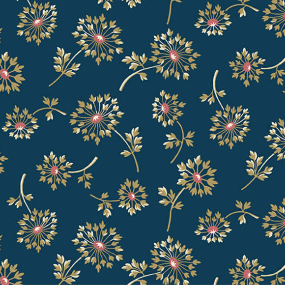 Dandelion - Super Bloom Range of Fabric by Edyta Sitar - Dusk