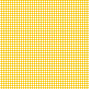 Gingham from Makower - Daffodil Yellow