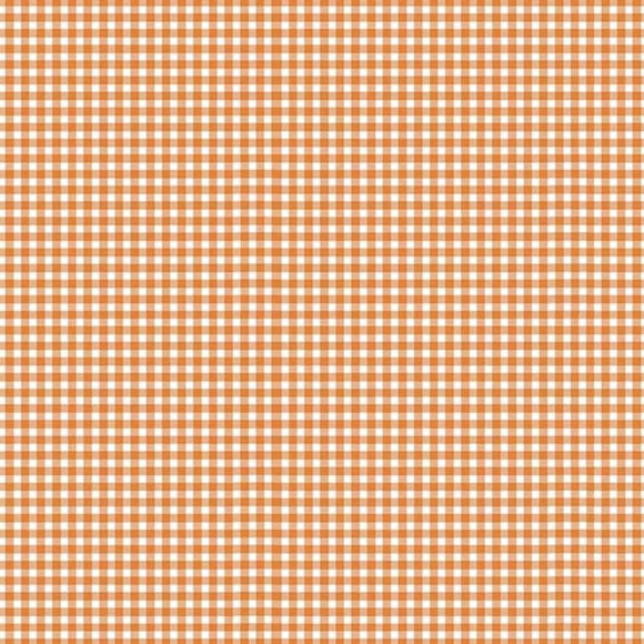Gingham from Makower - Dusty Coral