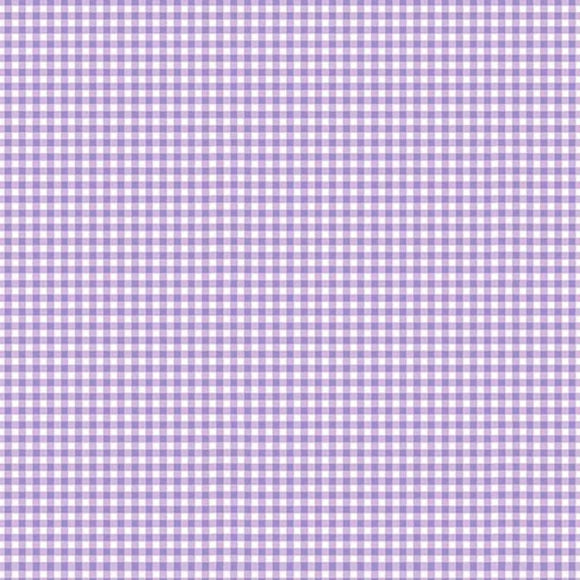 Gingham from Makower - Lilac
