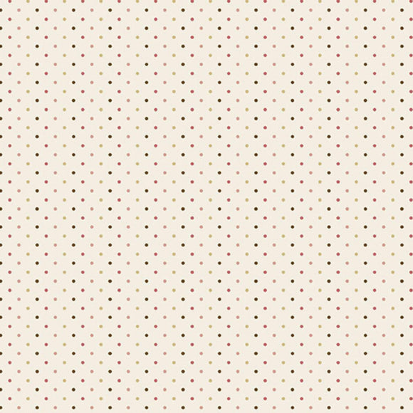 Poppy Seeds - Super Bloom Range of Fabric by Edyta Sitar - Sand