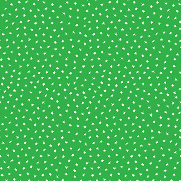 Star Bright Fabric Range - Andover - Green