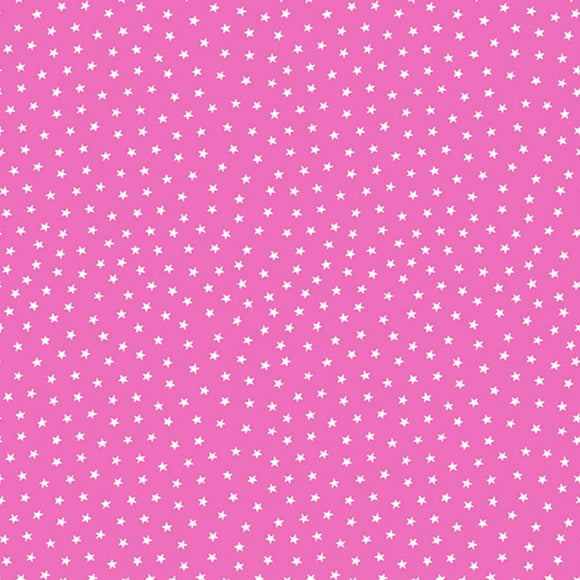 Star Bright Fabric Range - Andover - Hot Pink