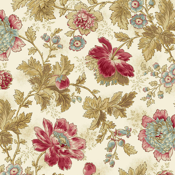 Super Bloom - Super Bloom Range of Fabric by Edyta Sitar - Sand