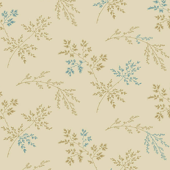 Twigs - Super Bloom Range of Fabric by Edyta Sitar - Light Khaki