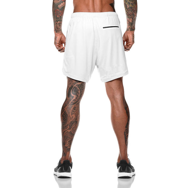 Mens Athletic Shorts with Conceal Pocket