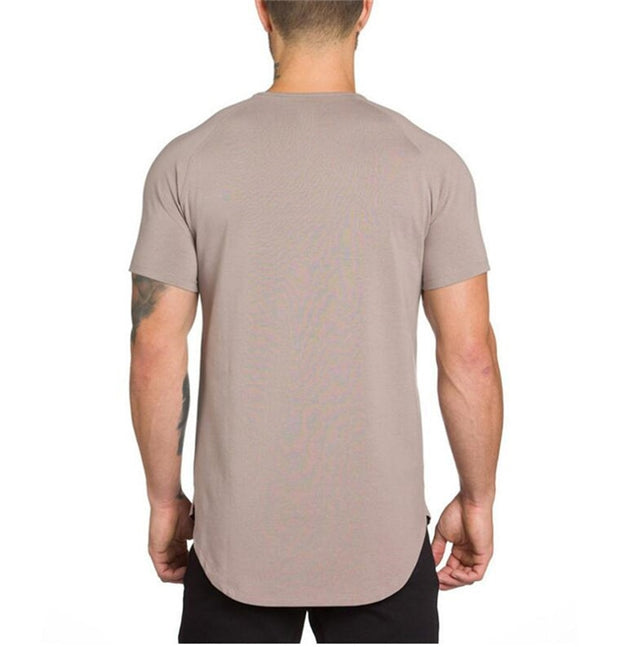 MuscleGuys Slim Fit T-Shirt - Khaki