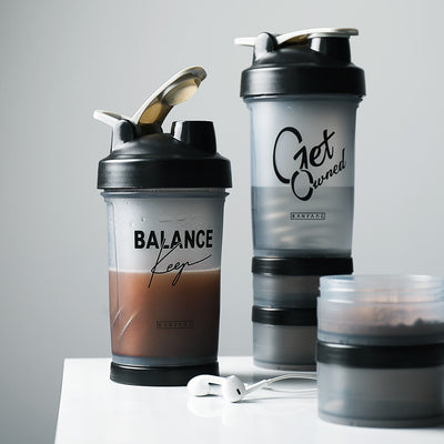 Protein Shaker Cup - Hot + Cold