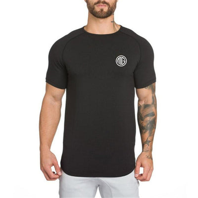 MuscleGuys Slim Fit T-Shirt - Black