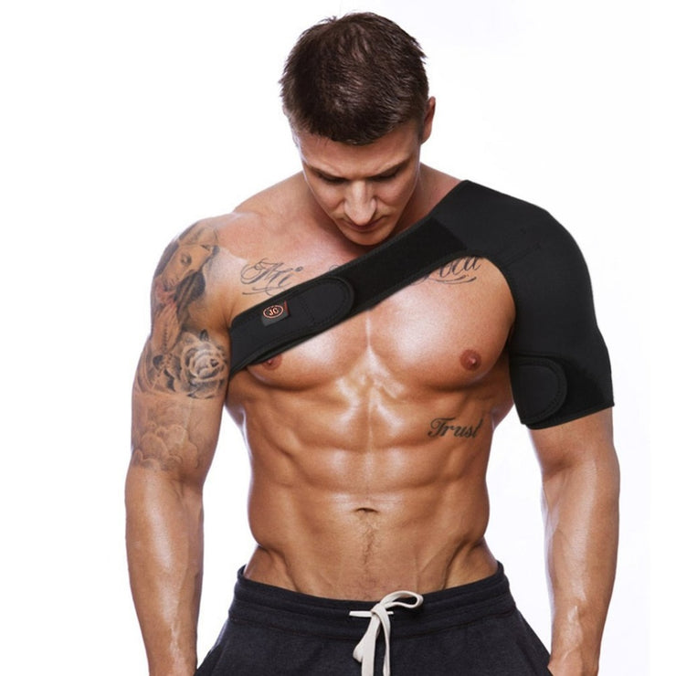 Adjustable Breathable Shoulder Brace - Right & Left Available!