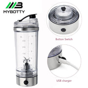 250ML Electric Protein Shaker Cup USB NEW 2020