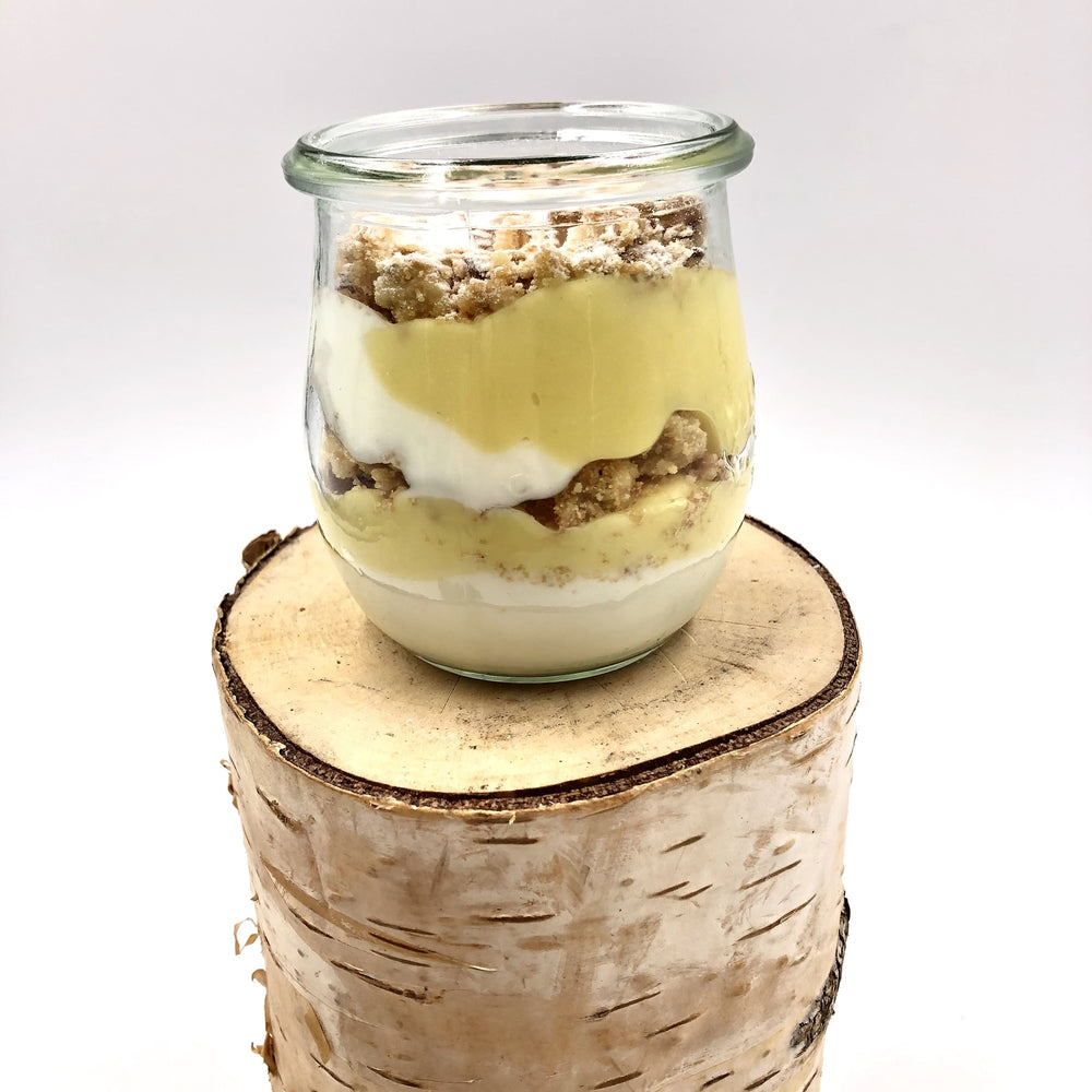 Verrine citron fromage blanc