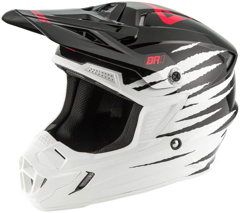 CASCO ANSWER AR1 PRO GLO BLANCO Y NEGRO