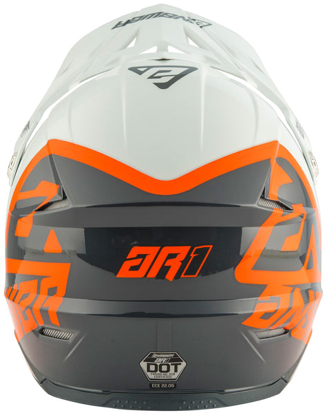 CASCO ANSWER AR1 VOYD NARANJA Y BLANCO