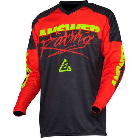 CAMISETA ANSWER SYNCRON PRO GLO ROJA
