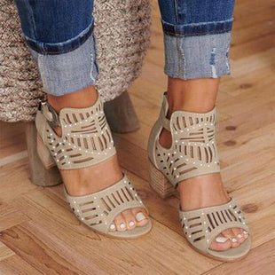 Women's Fashion High-Heeled Sandals