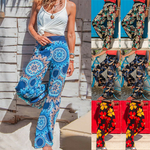 Load image into Gallery viewer, Women's High Waist Casual Printed Home Pants