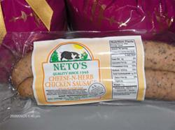 Herb-N-Cheese Chicken Sausage