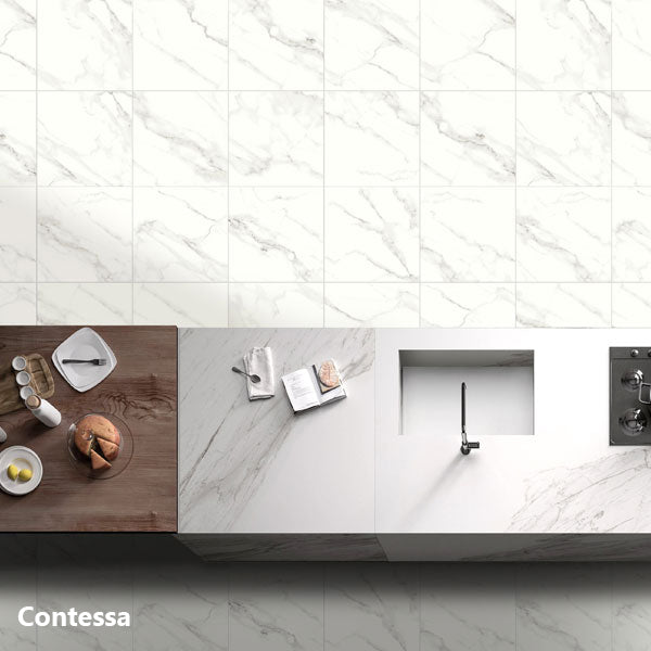 Contessa Marble Floor/Wall Tile