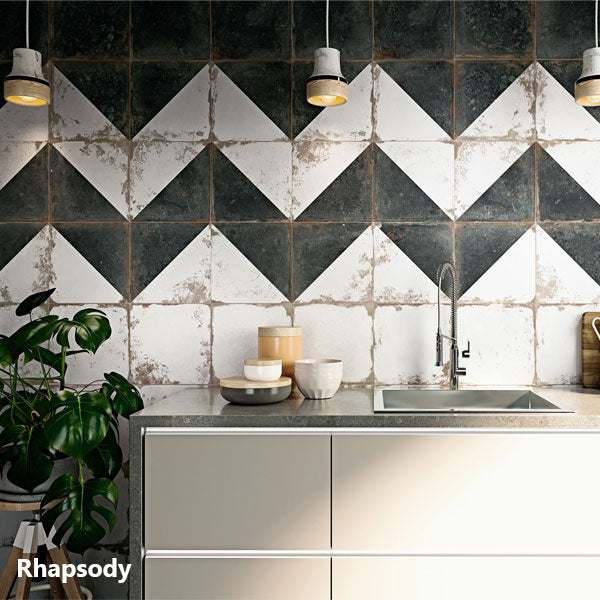 Rhapsody Distressed Floor/Wall Tile