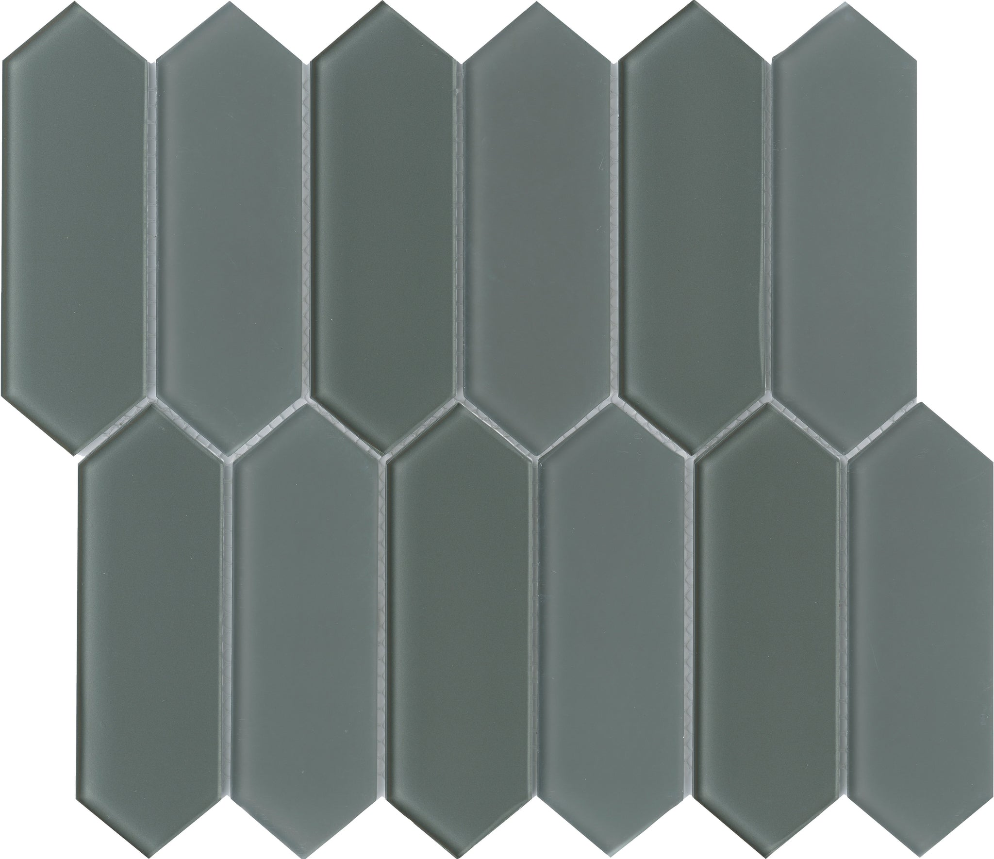 Charisma Glass Picket Mosaic Tile Wise