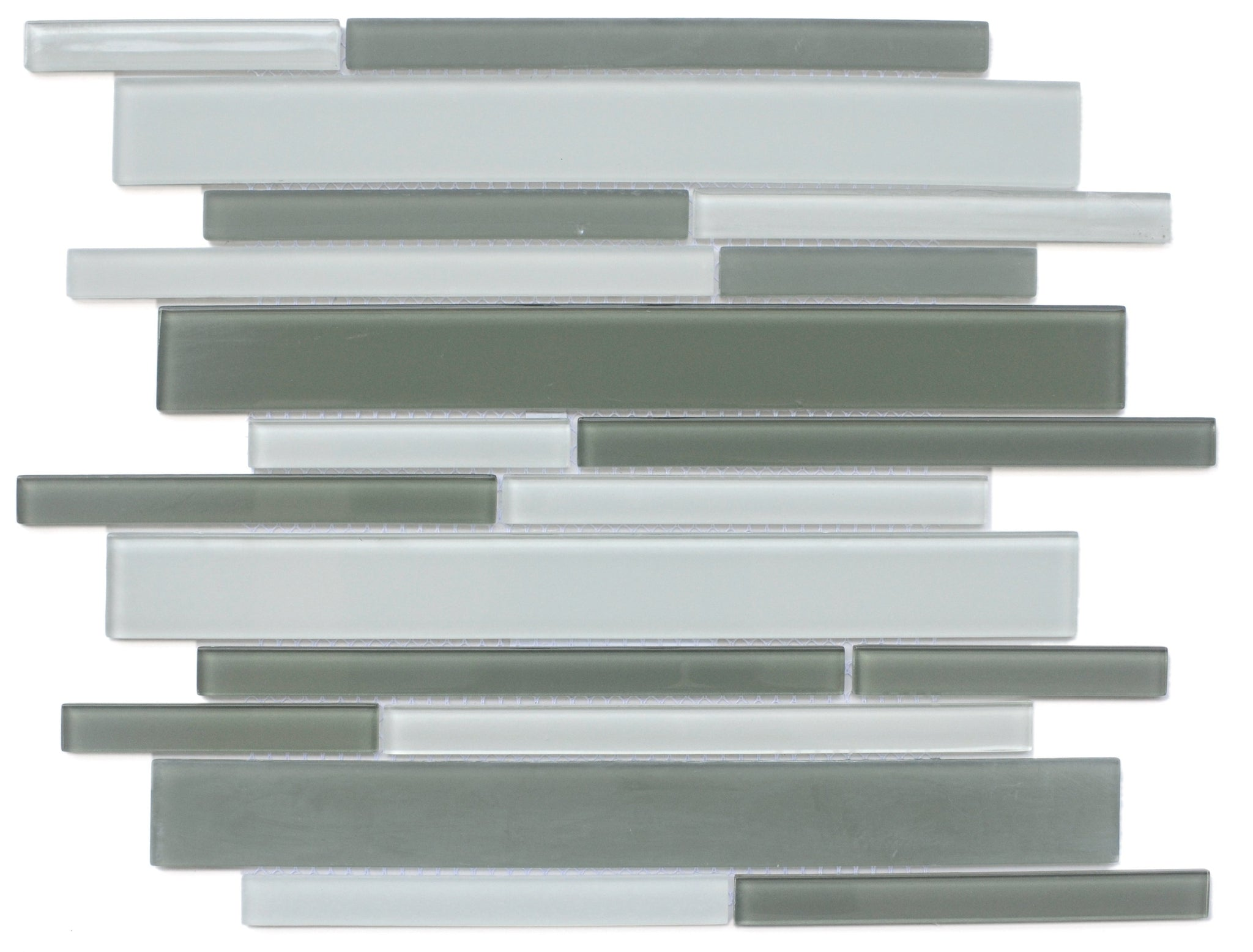 Charisma Glass Linear Mosaic Tile Glam