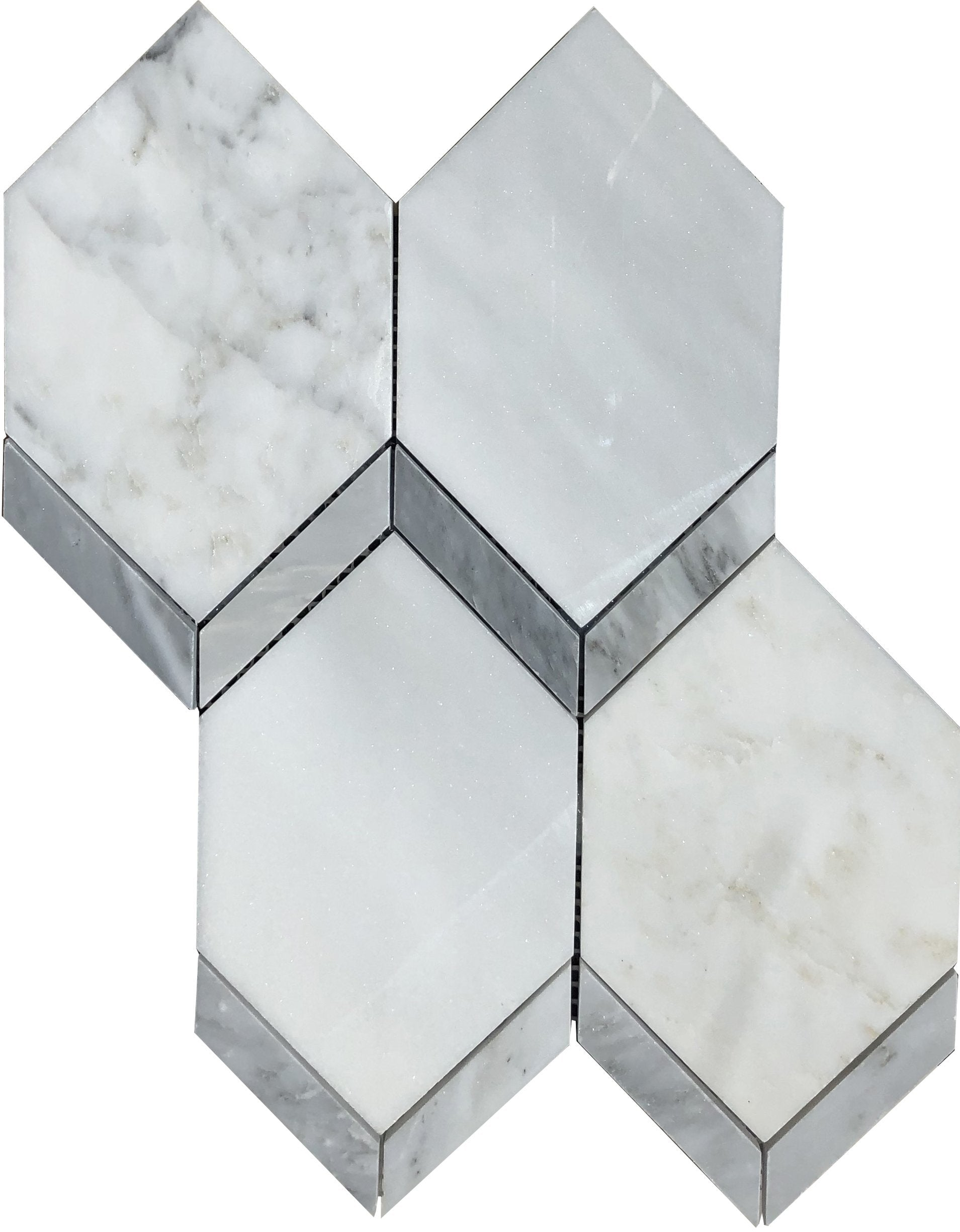 Intrigue Marble Picket Tile