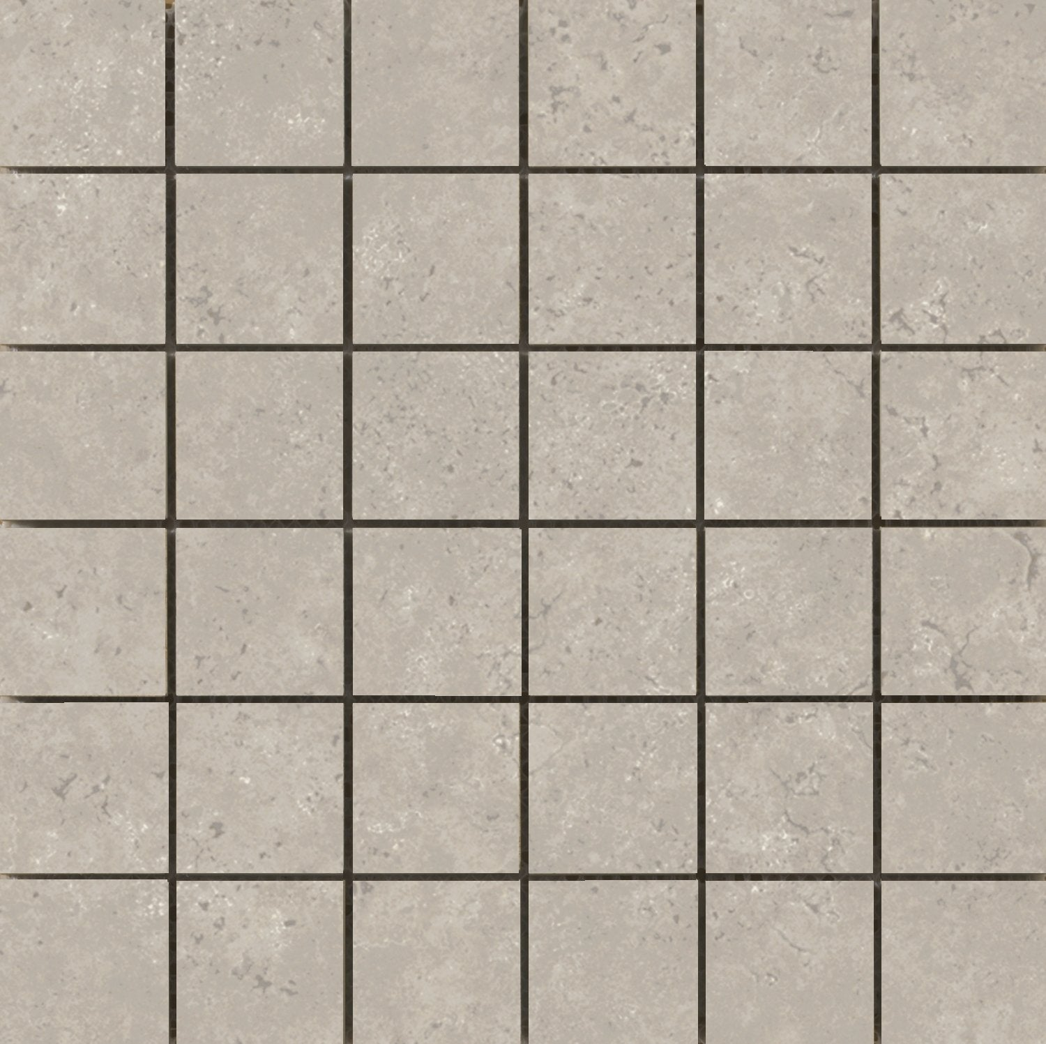 Tesola Porcelain Mosaic Floor/Wall Tile Taupe