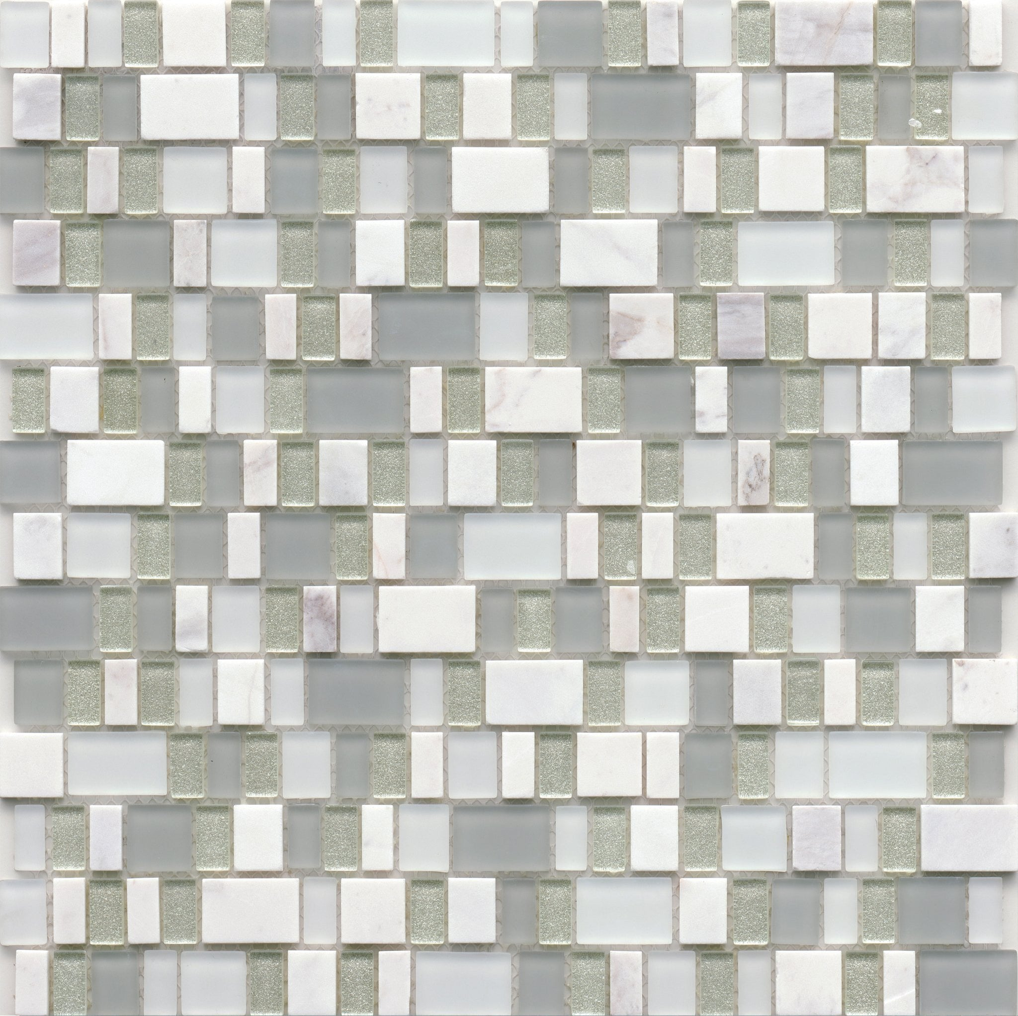 Unique Glass Mosaic Tile Ballad