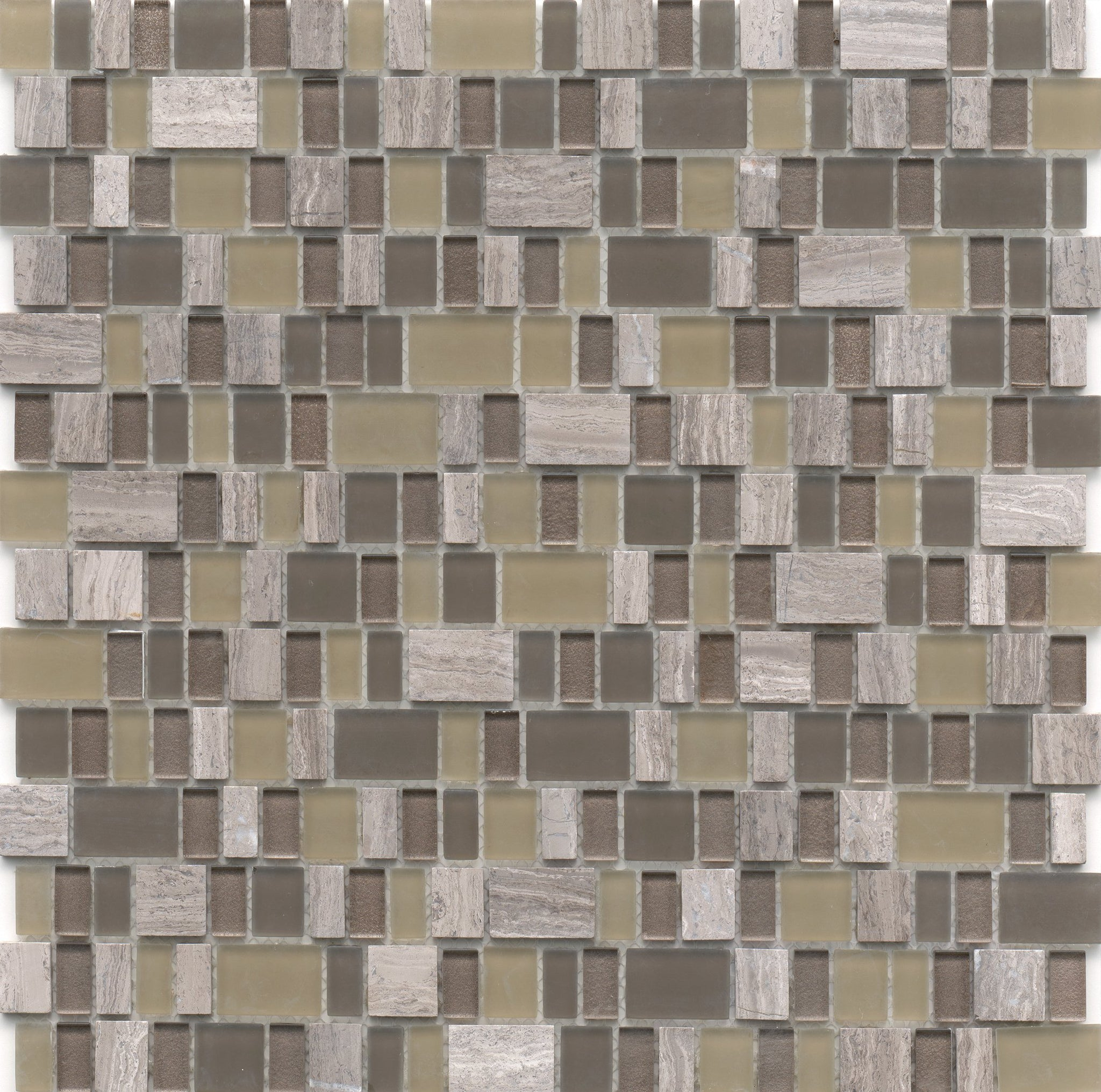 Unique Glass Mosaic Tile Lyric