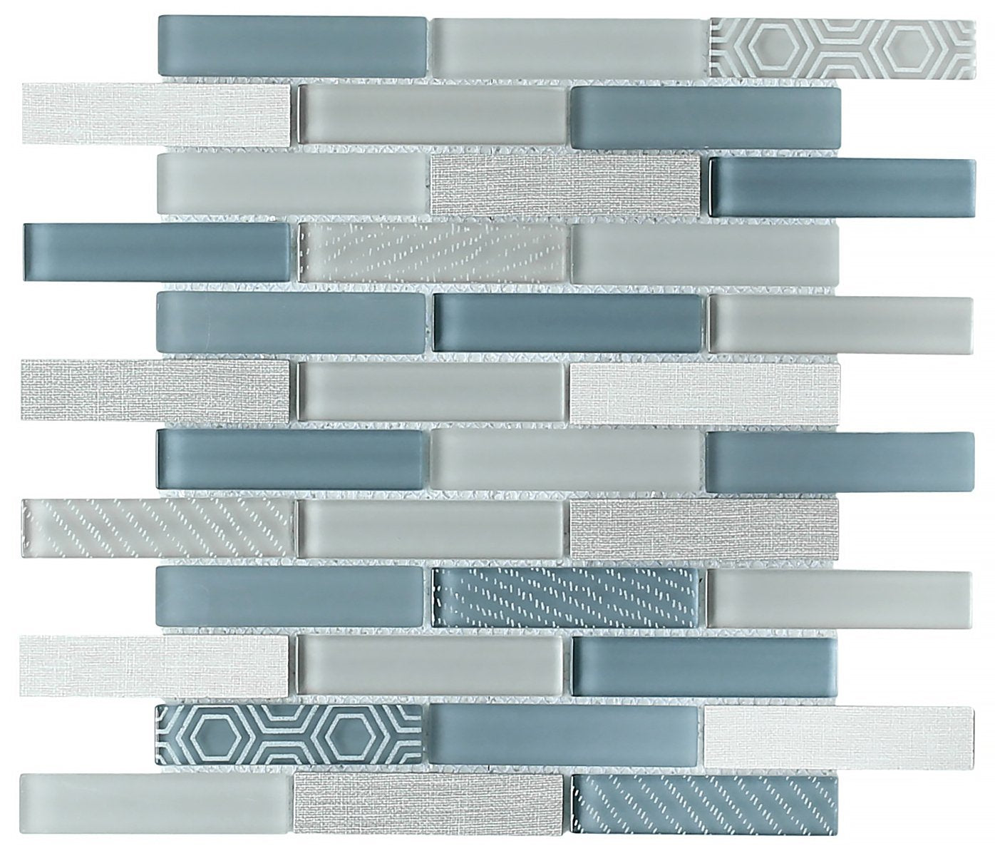 Volare Glass & Porcelain Wall Tile Nuvole