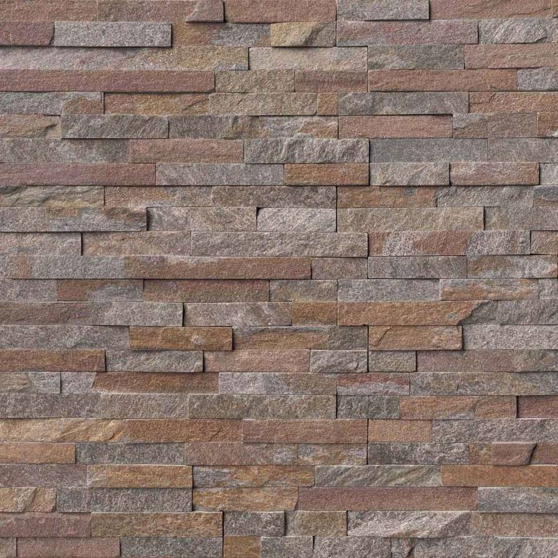 Amber Falls Rockmount Stacked Stone Panels
