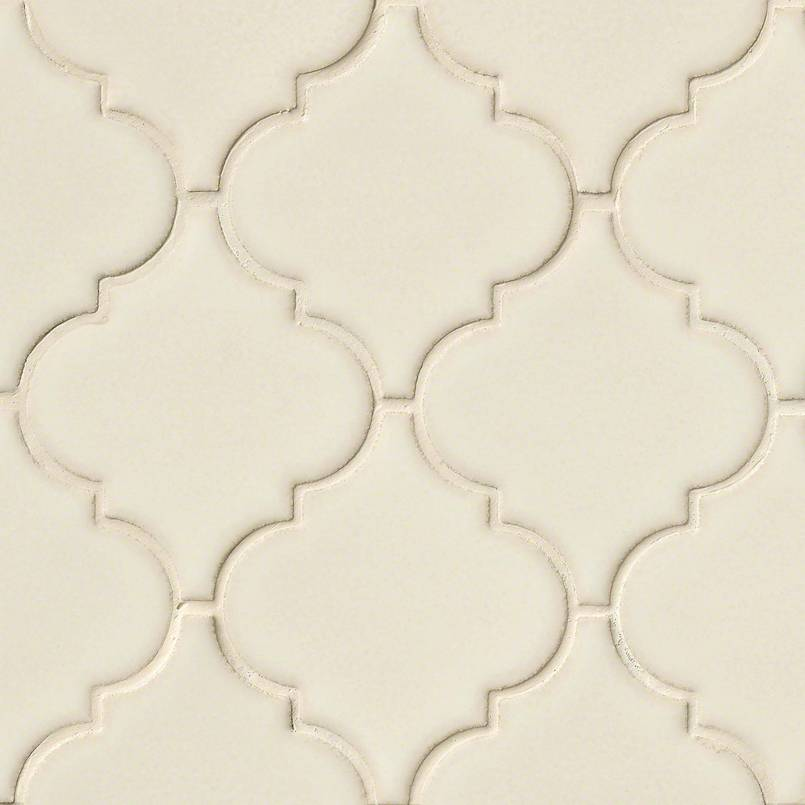 Antique White Arabesque Tile