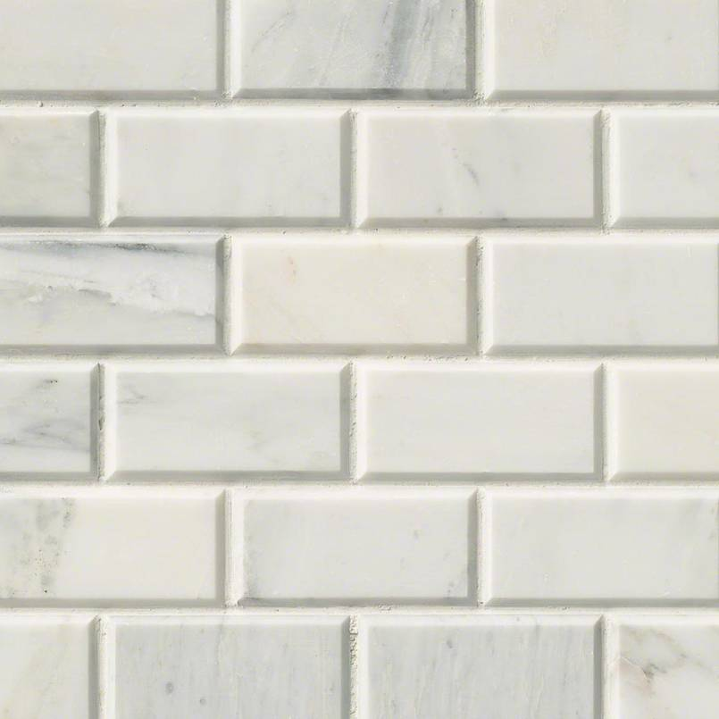 Arabescato Carrara Subway Tile