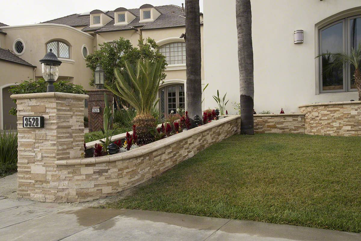 Casa 3D Multi Finish Rockmount Stacked Stone Panels