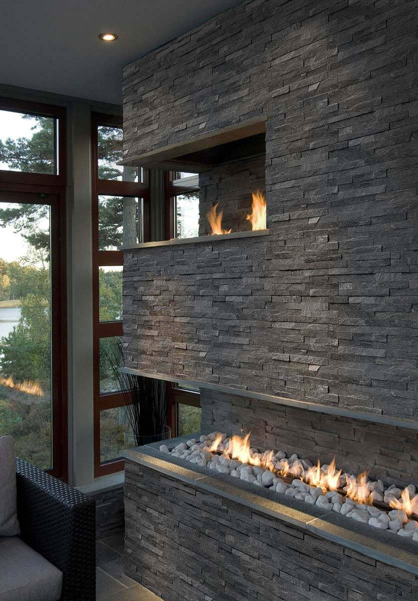 Coal Canyon Rockmount Stacked Stone Panels