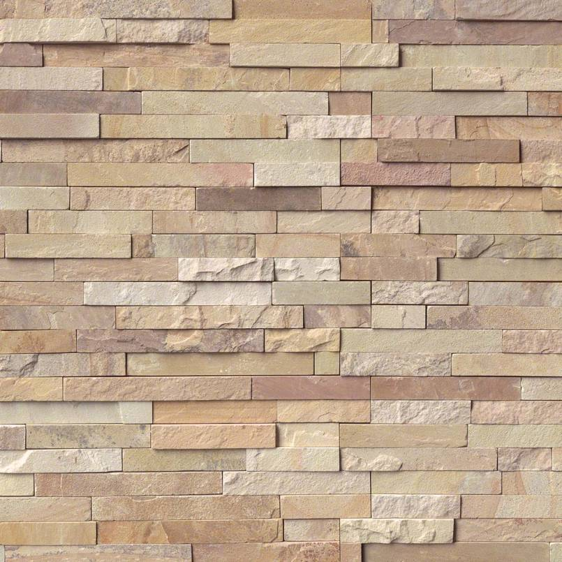 Fossil Rustic Rockmount Stacked Stone Panels
