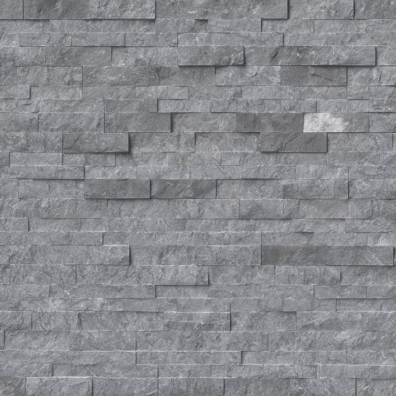 Glacial Gray Rockmount Stacked Stone Panels