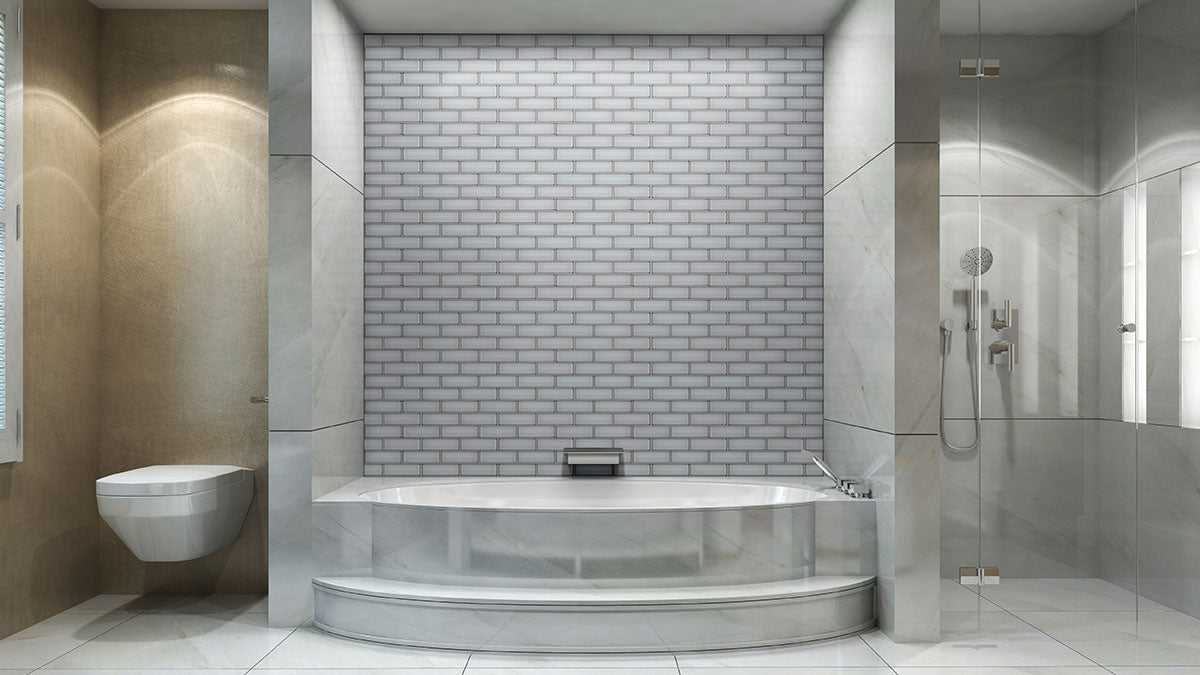 Ice Bevel Subway Tile