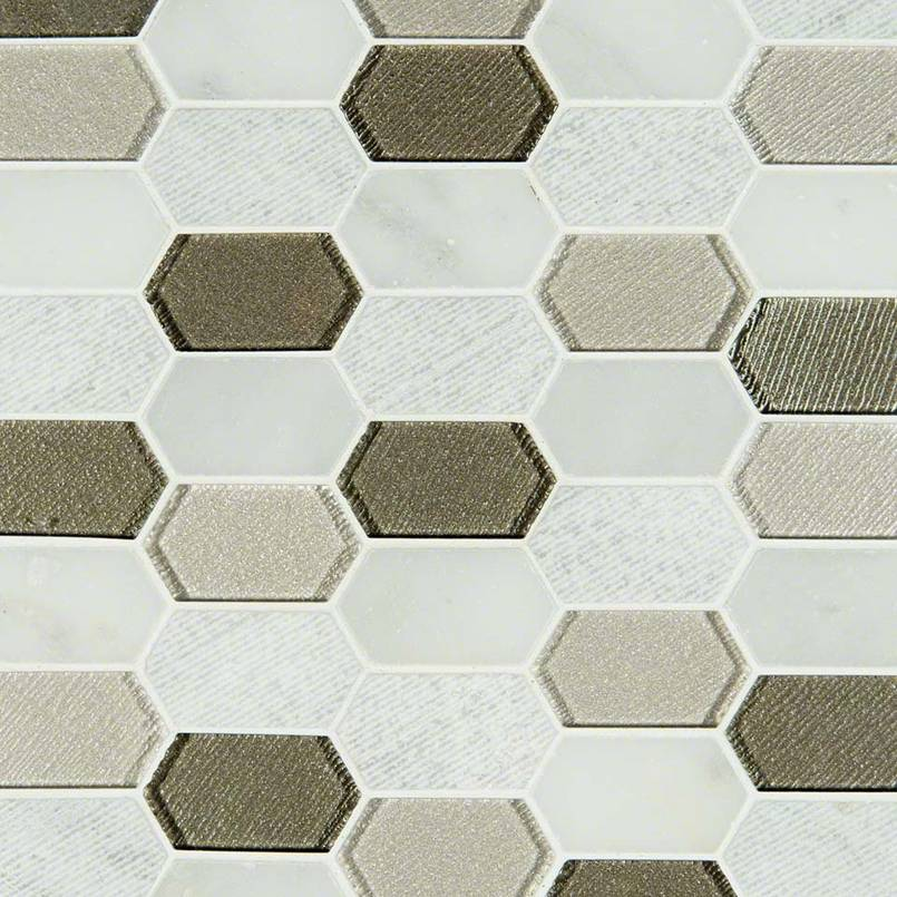 Inessa Blanco Picket Pattern Tile